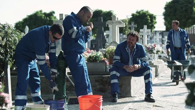 el cortejo cortometraje español