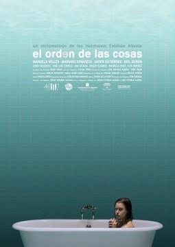 El orden de las cosas cortometraje cartel poster