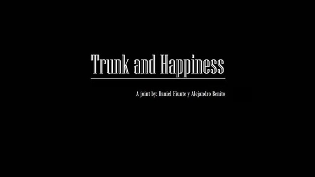 trunk and happiness cortometraje