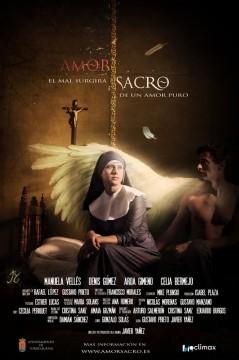 Amor sacro cortometraje poster cartel