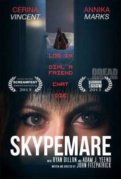 Skypemare cortometraje cartel poster