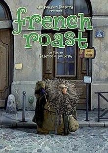 French Roast cortometraje cartel poster