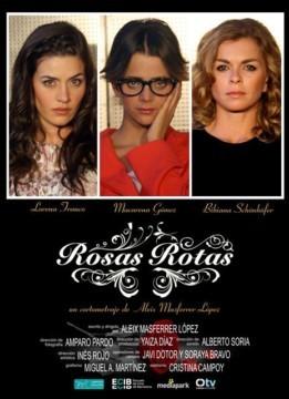 Rosas rotas Cortometraje cartel