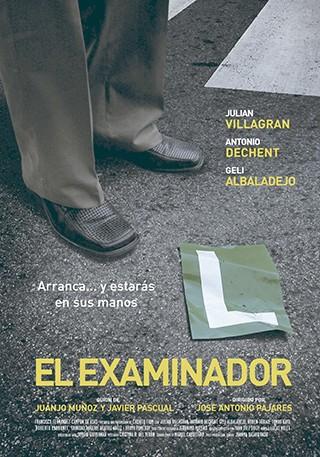 El examinador cortometraje cartel poster