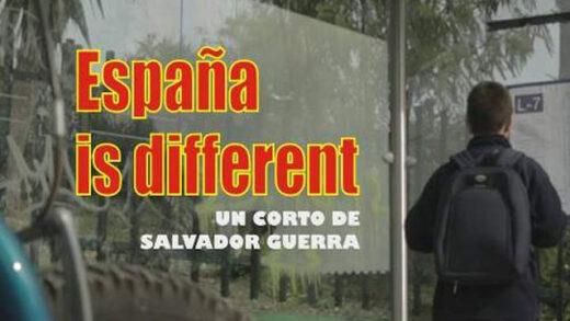 España is different. Cortometraje y drama español de Salvador Guerra