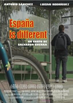 España is different corto cartel poster