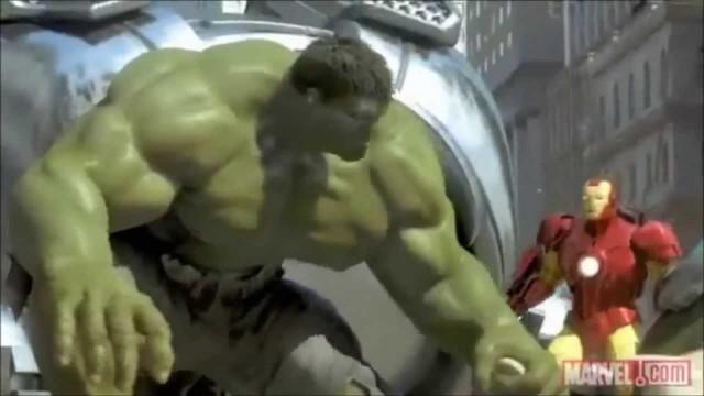 Iron Man, Hulk & Spider Man. Cortometraje de animación
