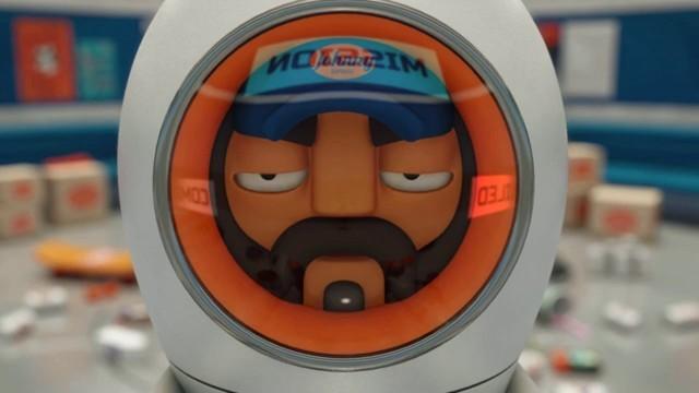 Johnny Express. Cortometraje de animación surcoreano