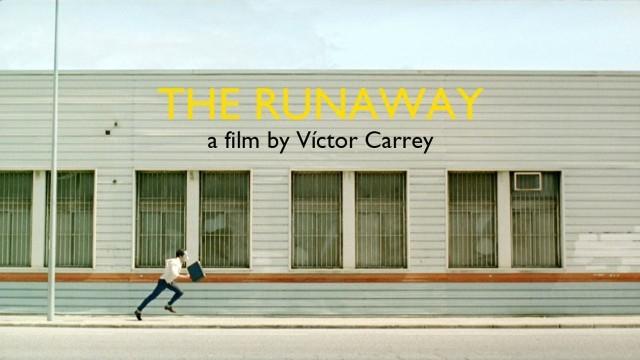 La huida. Cortometraje español comedia de acción Víctor Carey