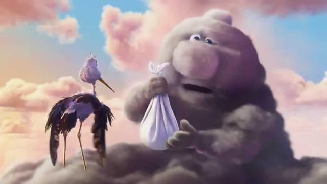 Parcialmente nublado. Cortometraje de animación de Pixar