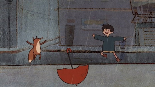 The song for rain. Cortometraje de animación de Yawen Zheng