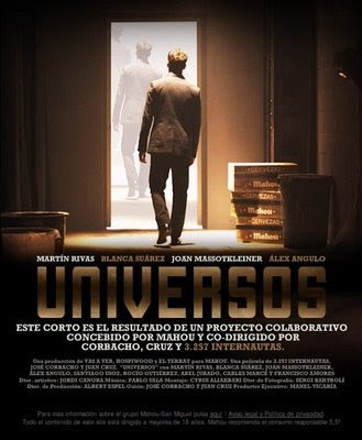 Universos cortometraje cartel