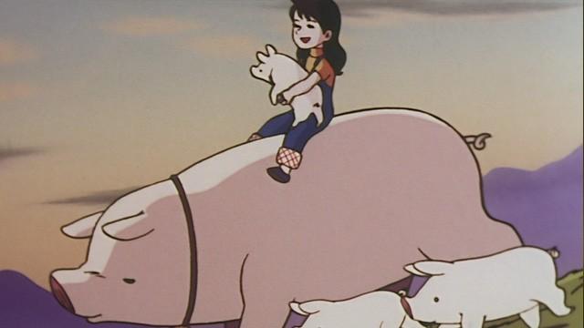 Yukis sun. Cortometraje Anime de Hayao Miyazaki