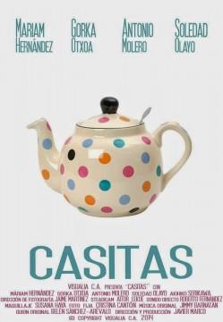 Casitas cortometraje cartel poster