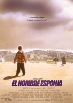 El hombre Esponja cortometraje cartel