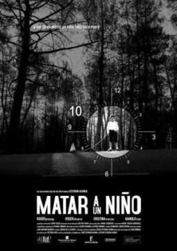 Matar a un niño cortometraje cartel