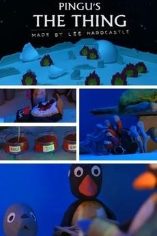 Pingu's the thing cortometraje cartel poster