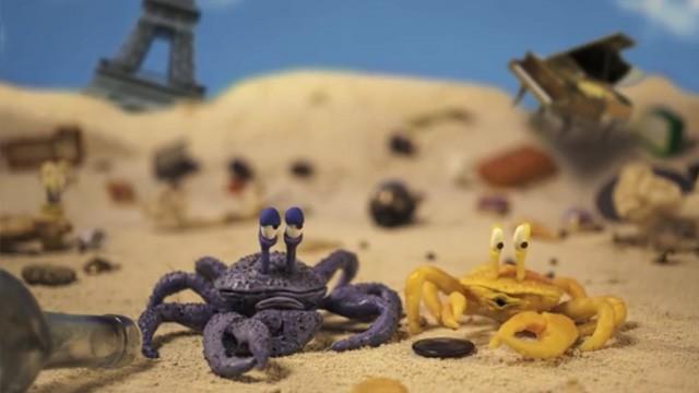 Crab. Cortometraje británico de animación stop-motion