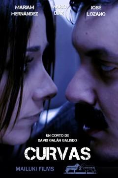 Curvas cortometraje cartel poster 2