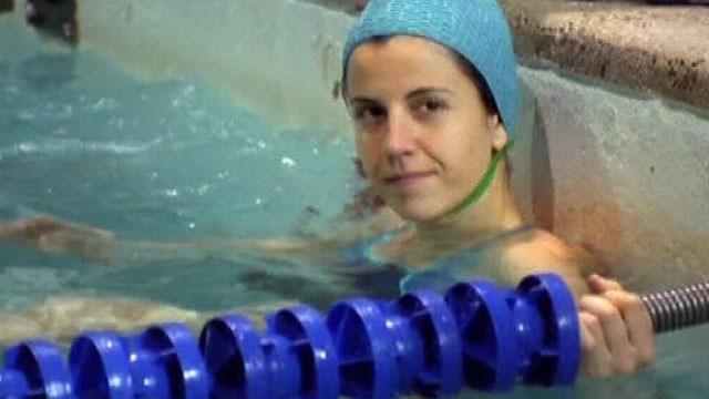 La nadadora. Cortometraje español dirigido por Gemma Vidal