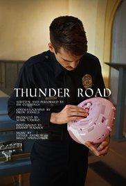 Thunder Road cortometraje cartel