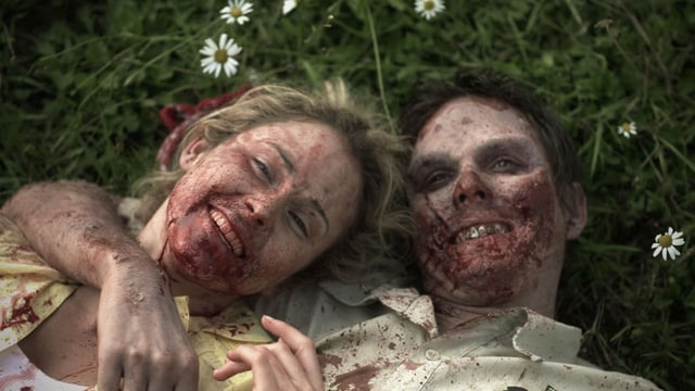 Rotting Hill. Cortometraje de zombies de James Cunningham