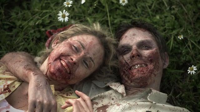 Rotting Hill. Cortometraje de zombies de James Cunningham