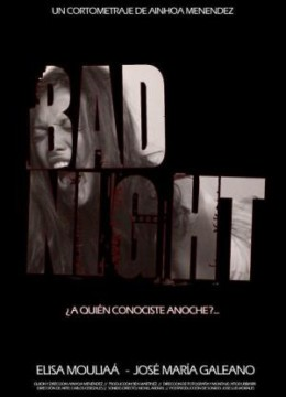 Bad night cortometraje cartel