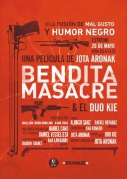 Bendita masacre cortometraje cartel
