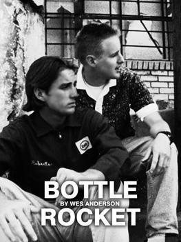 Bottle Rocket cortometraje cartel