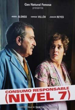 Consumo responsable (Nivel 7) cortometraje cartel