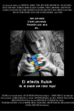 El efecto Rubik cortometraje cartel