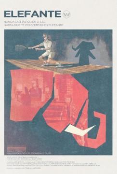 Elefante cortometraje cartel poster