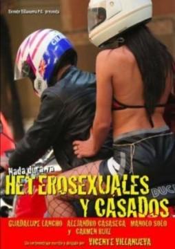 heterosexuales y casados cortometraje cartel