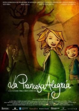 La princesa alegría cortometraje cartel