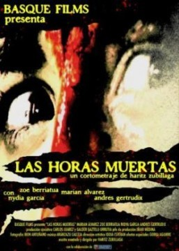 Las horas muertas cortometraje cartel