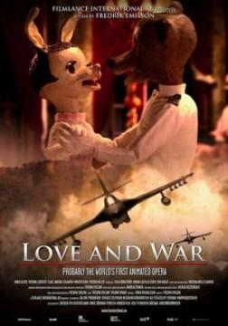 Love and War cortometraje cartel
