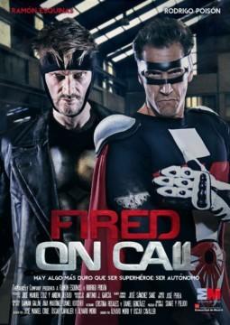 fired on call despedido por telefono cortometraje cartel