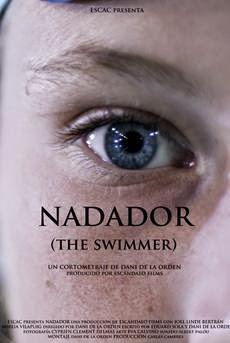 Nadador cortometraje cartel