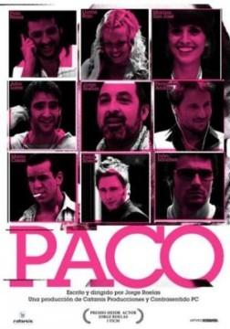 Paco cortometraje cartel