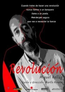 Revolución cortometraje cartel