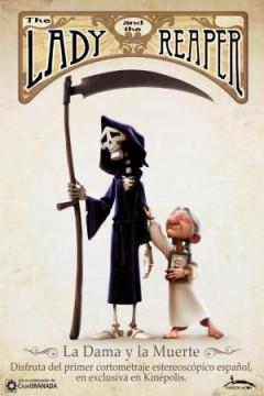 La dama y la muerte cortometraje cartel poster