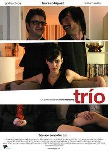 Trio cortometraje cartel