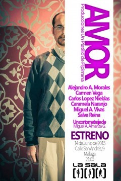 Amor cortometraje cartel poster