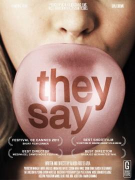 Dicen (They say) cortometraje cartel poster