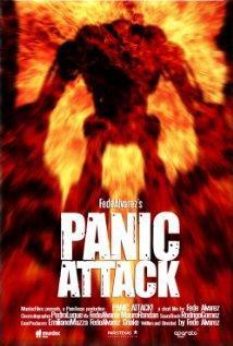 Ataque de panico cortometraje cartel