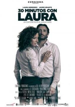 30 minutos con Laura cortometraje cartel