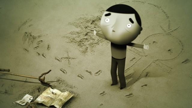 Skhizein. Cortometraje francés de animación y comedia dramática