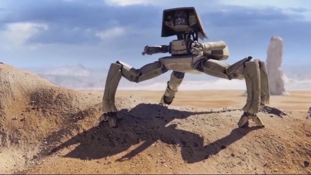 Autonomous. Cortometraje de animación