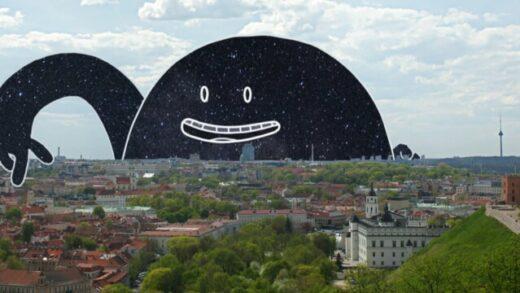 Mr. Night has a day off. Cortometraje lituano de animación